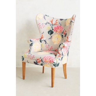 Floral living room chairs
