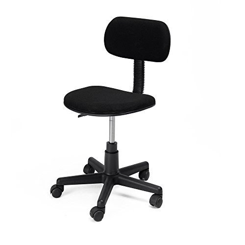 Generic Adjustable Low Back Home Office Computer Student Computer Chair  (Black)