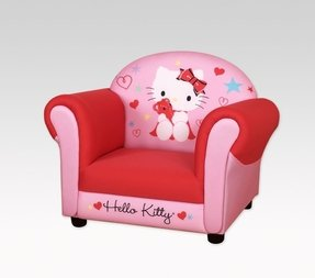 Hello kitty armchair pink