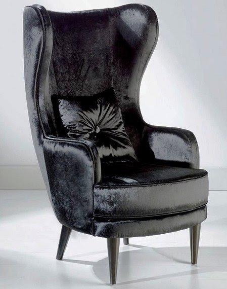 Charmant High Back Club Chair