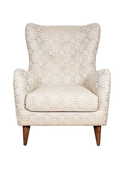 Homes Feature Elegant Armchair
