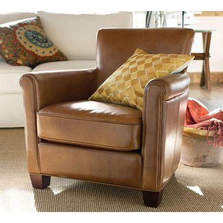 Irving professor leather armchair 6
