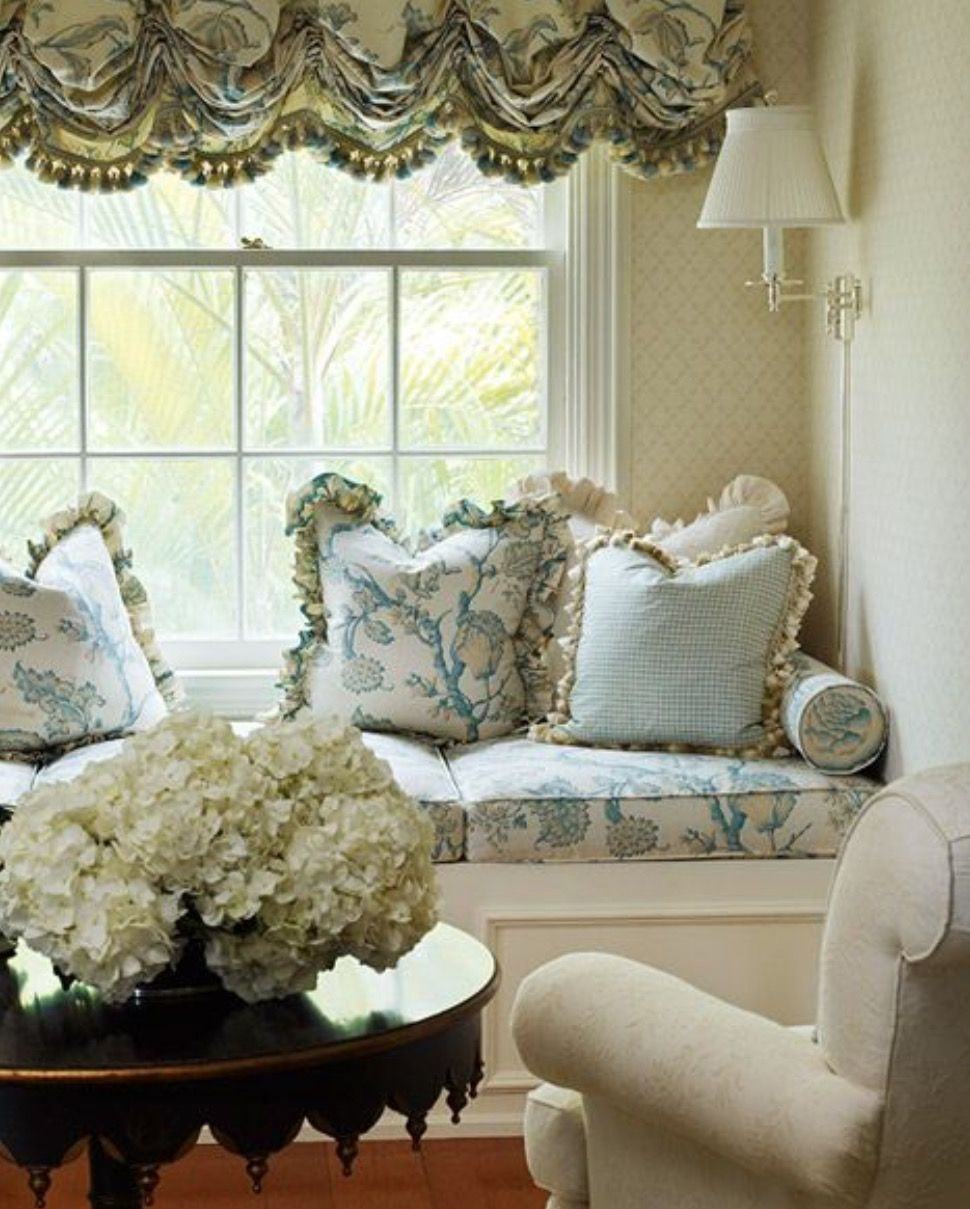 Lace Balloon Shade Window Treatments