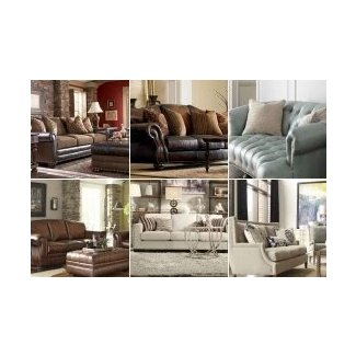 Leather Sofas With Nailhead Trim