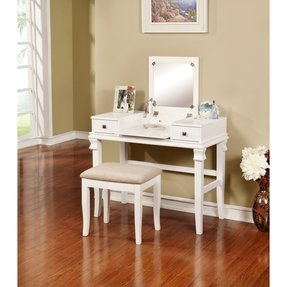 Linon Angela Bedroom Vanity Set