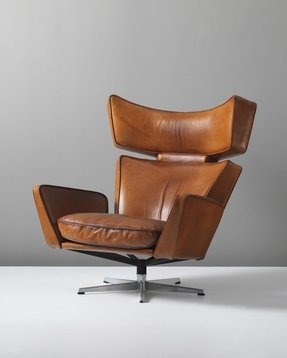 Modern leather armchairs 1