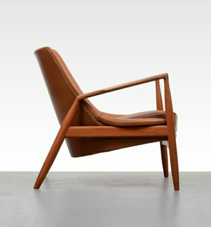 Modern leather armchairs 10