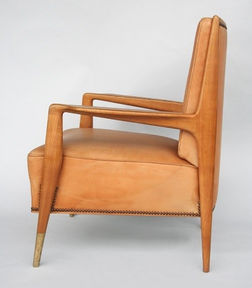 Modern Leather Armchairs 16