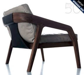 Modern leather armchairs 7