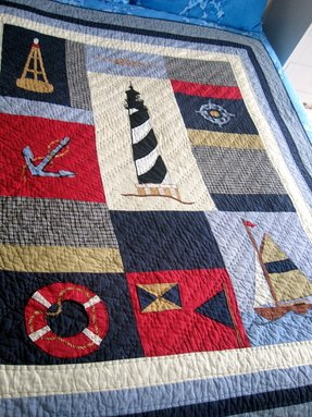 Nautical themed quilts