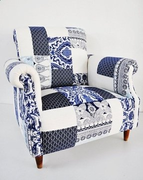 Patchwork armchair for sale