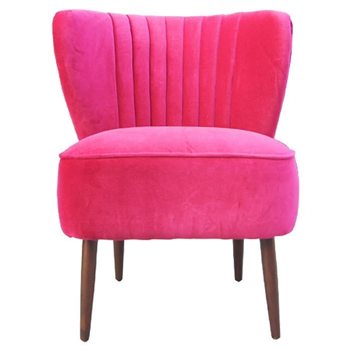 Pink Club Chair - Foter