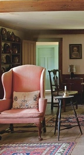 Pink armchairs 24