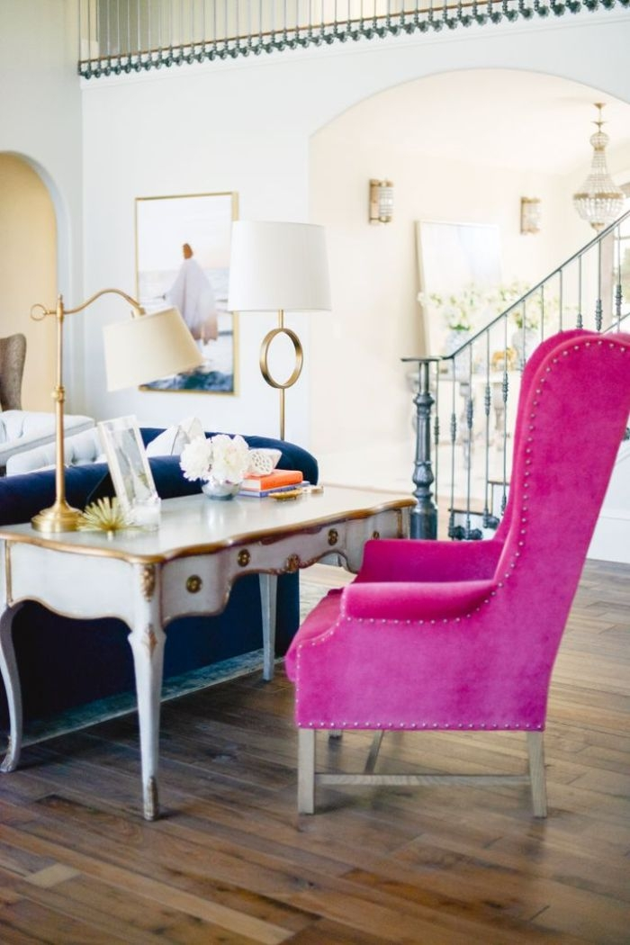 Ordinaire Hot Pink Accent Chair   Ideas On Foter