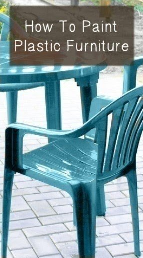 Plastic patio chairs
