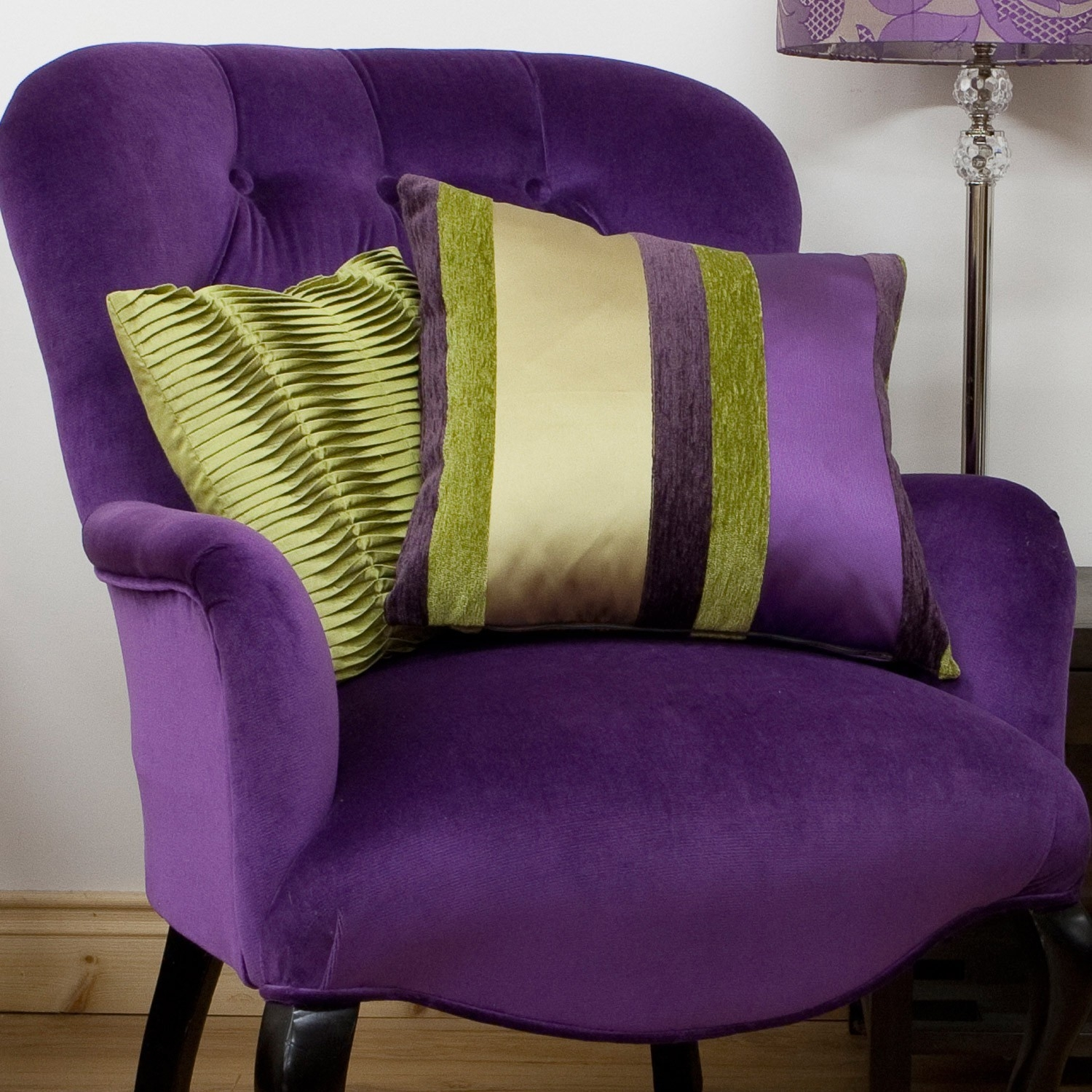 Purple armchairs 1
