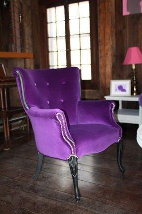 Purple Armchairs Foter