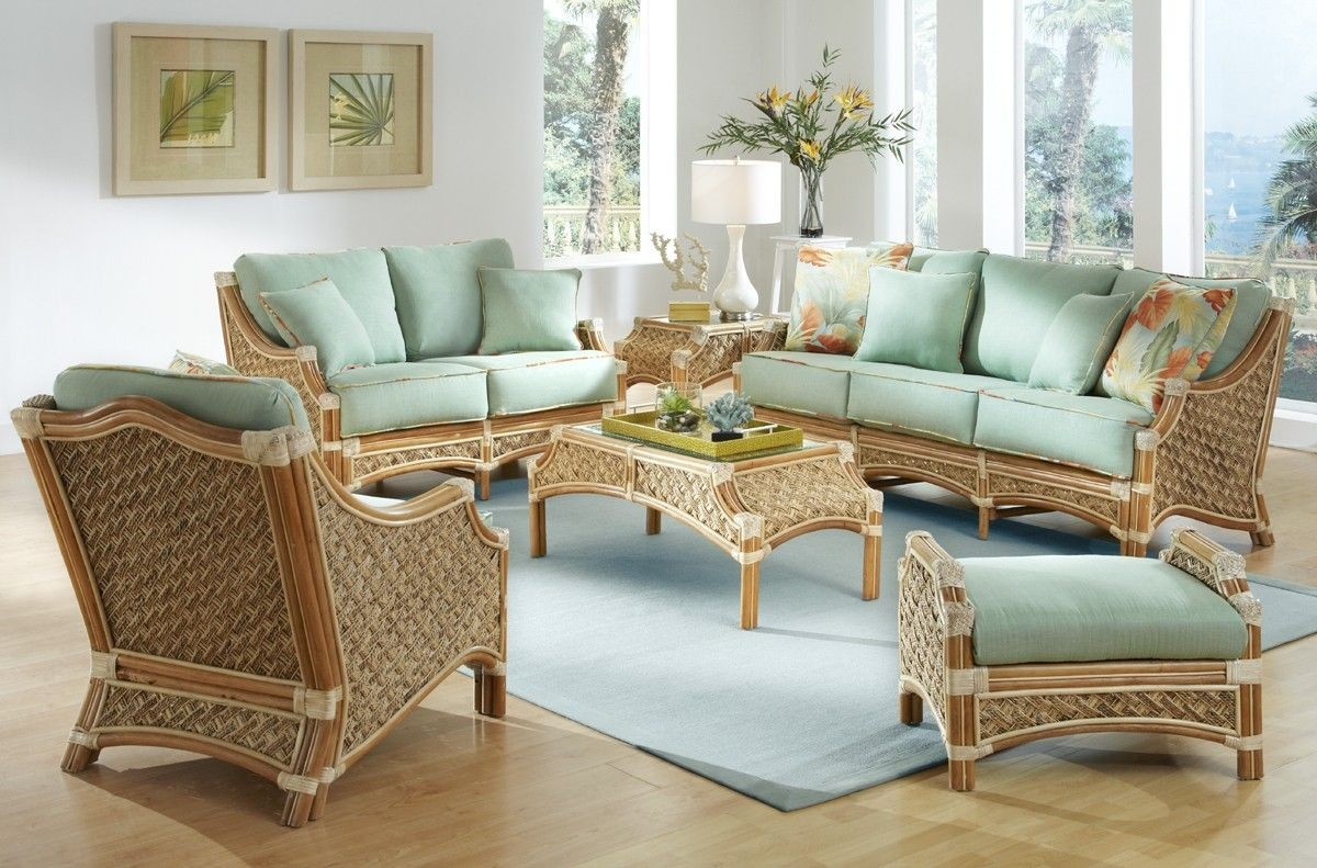 Merveilleux Rattan Living Room Furniture