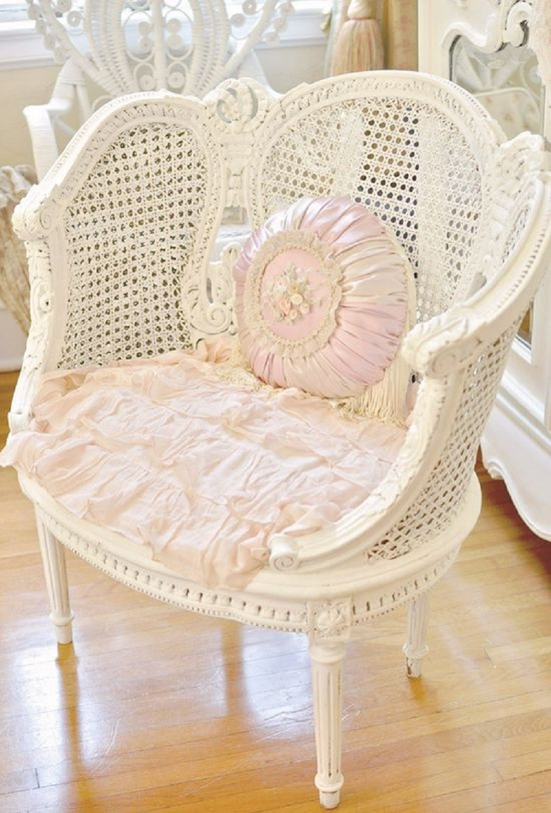 Genial Shabby Chic Kitchen Chair Cushions