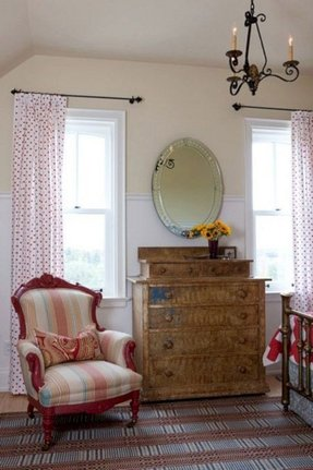 Single Panel Curtain Ideas