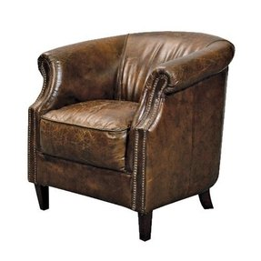 Small leather armchair 6