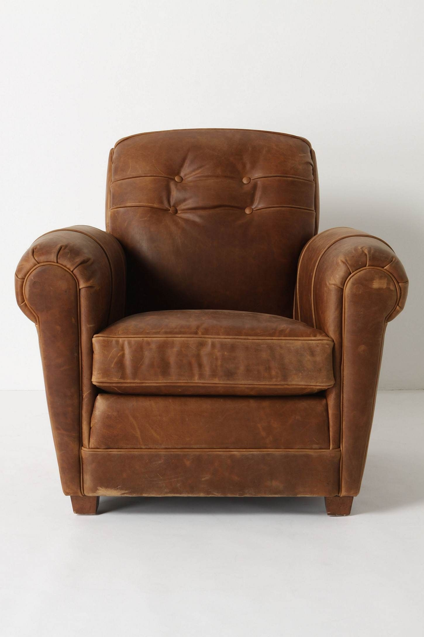 Small Leather Armchairs   Ideas On Foter