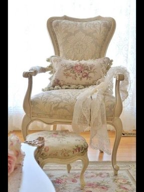 Spindle chairs shabby chic