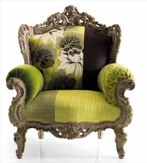 Suzani fabric chair