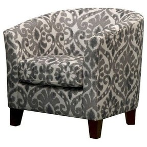 Upholstered tub chairs