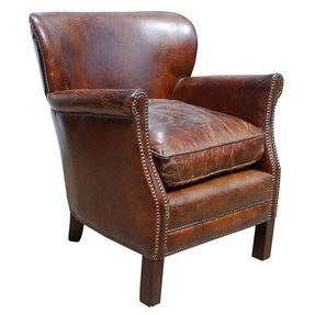 Upright armchair
