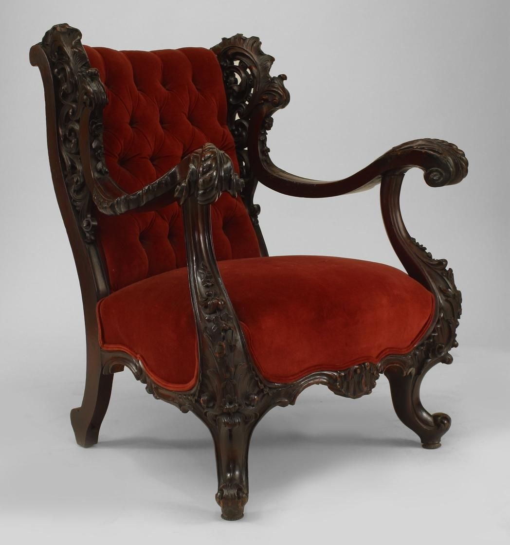 Superieur Victorian Wingback Chair