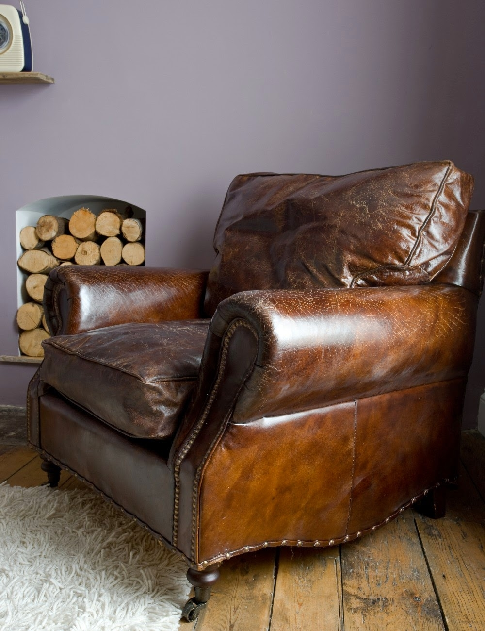 Brown Leather Armchairs   Ideas On Foter