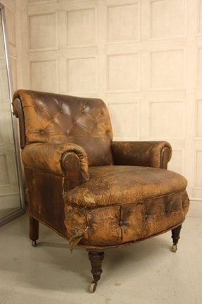 Antique Leather Armchairs Foter