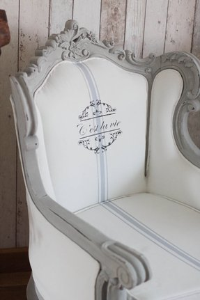Vintage shabby chic french louis style 1