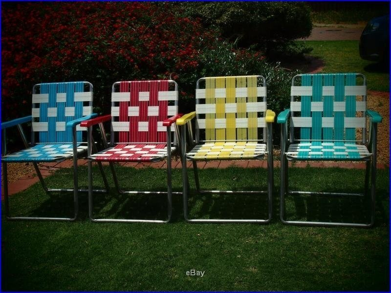 Aluminium Webbed Lawn Chairs Ive Fallen Through Two Of These