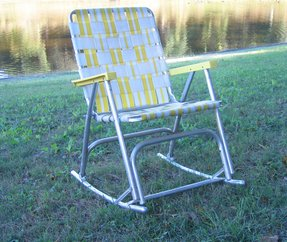 Aluminum Folding Lawn Chair Rocking By Domesticblissjrc 32 00