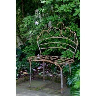 Awesome Wrought Iron Patio Benches Ideas On Foter Evergreenethics Interior Chair Design Evergreenethicsorg