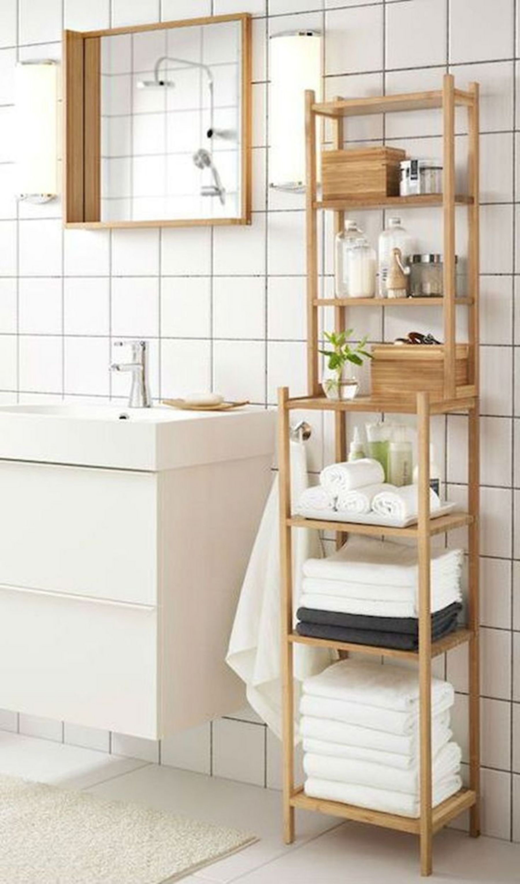 Superbe Bamboo Bathroom Furniture 4