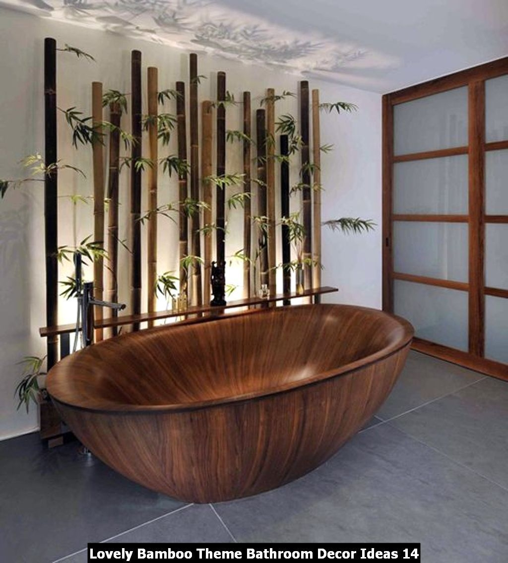 Exceptionnel Bamboo Vanity. Bathroom Furnishing ...
