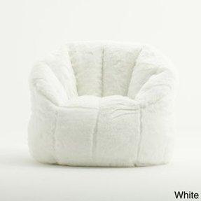 Beansack Joe Milano Faux Fur Bean Bag Chair 8