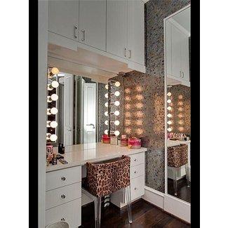 outstanding bedroom vanity table lights | Makeup Vanity Table With Lights - Foter