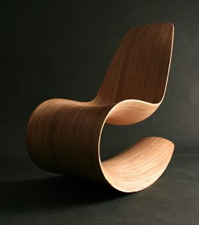 Bentwood rocking chair 3