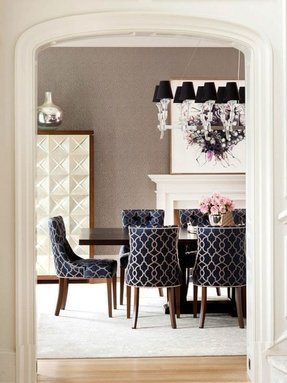 Black Fabric Dining Chairs - Foter