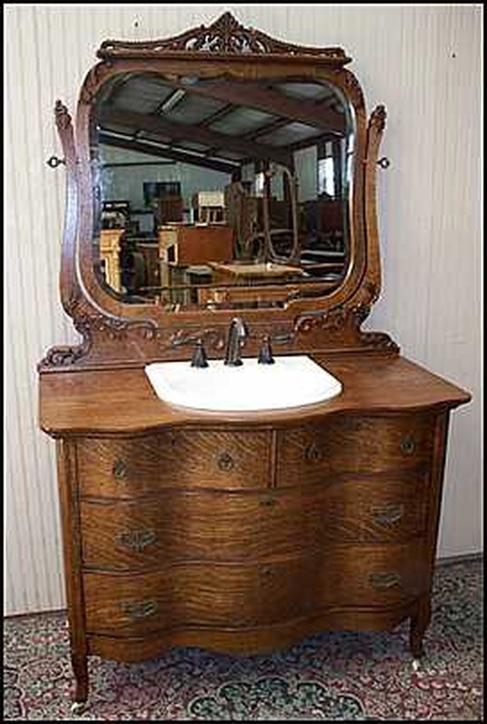 Bronze Bathroom Furniture 2. This Charming Antique Dresser ...