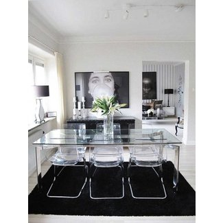 Clear Glass Dining Table Ideas On Foter