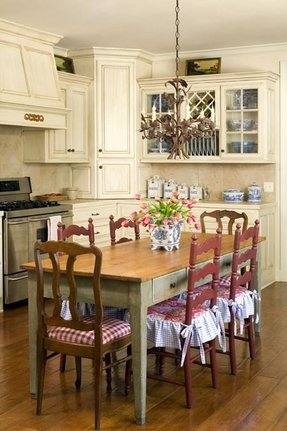 Country french kitchen chairs 1