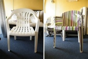 Covers for plastic outdoor chairs