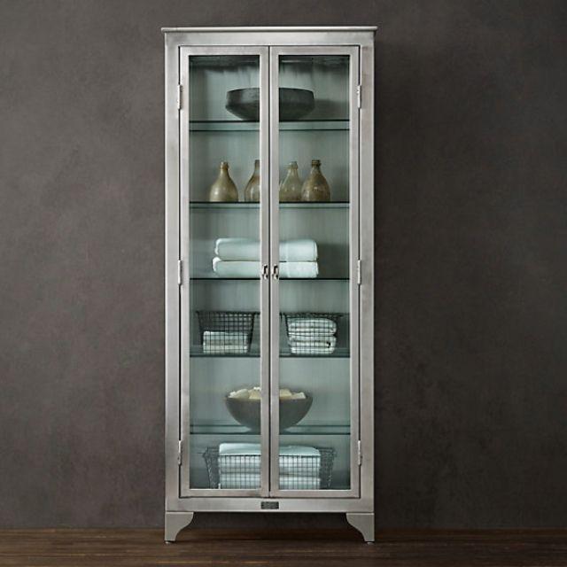 Stainless Steel Bathroom Furniture Foter Rh Com Cabinet Metal Uk