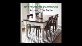 Farmhouse style table and chairs 2