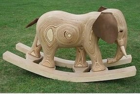 Wooden Elephant Rocking Horse Ideas On Foter